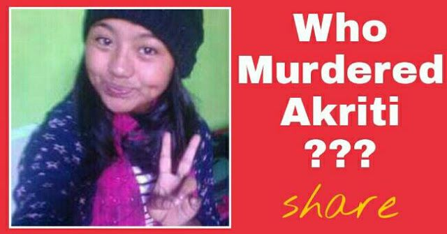 "NGO to demand CID investigation into the Murder case of 15 yr old Kurseong girl Akriti   The Kanchenjunga Uddhar Kendra a Siliguri based organisation is now likely to demand and seek CID probe in the minor Aakriti murder case.  Talking to the reportersthe chief of the Kanchenjunga Uddhar Kendra Rangu Sauriya said: ""It is not that we have been sitting silently and keeping mum over the Aakriti murder case instead we have been in touch with the police administration continuously seeking justice…"