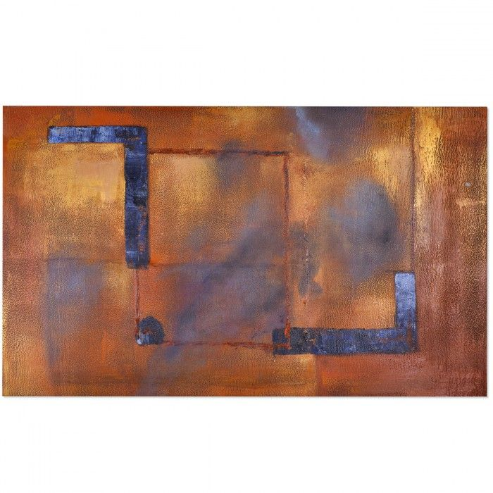 LIENZO ABSTRACTO INDUSTRIAL 155X95
