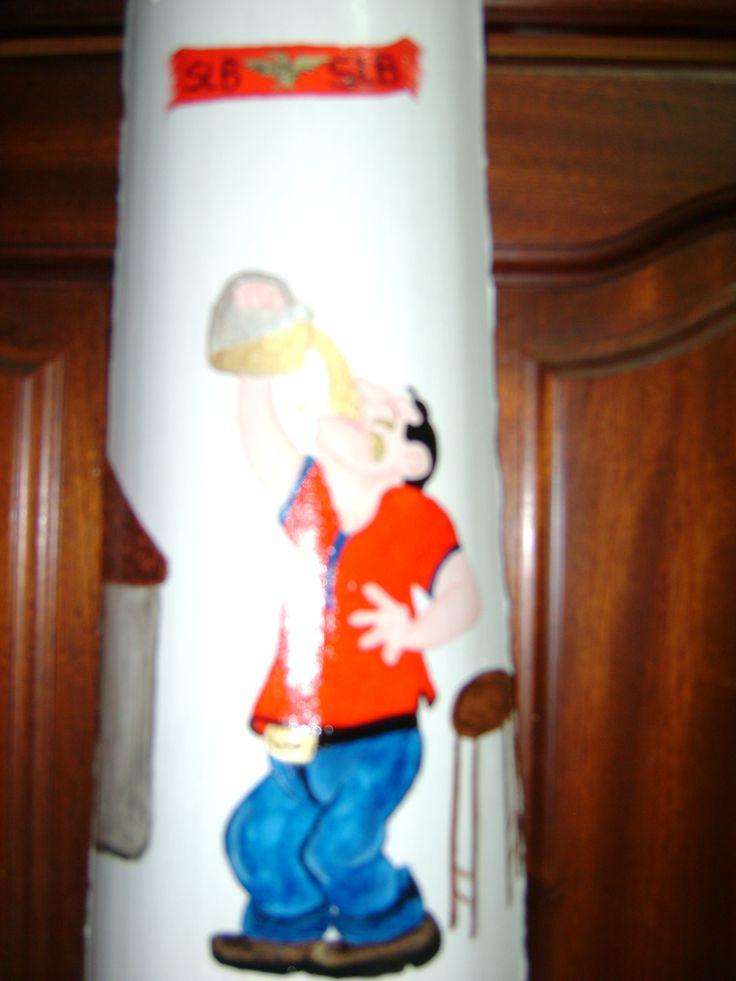 Bebedeira pintada por Teresa