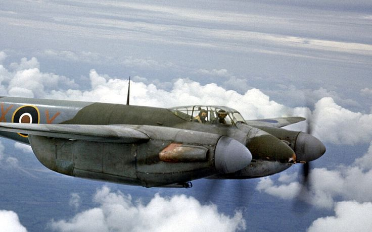 Moquito IIF, 1943.   a De Havilland Mosquito IIF DD739/RX-X …   Flickr