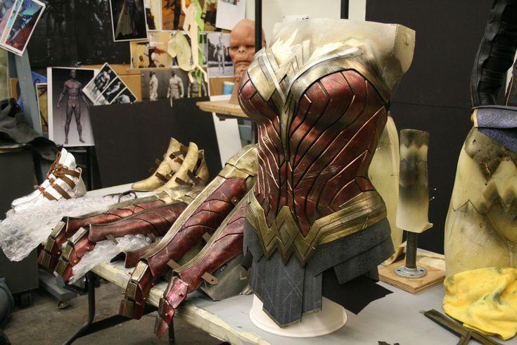 """supermantojusticeleague: """"Wonder Woman Costume : Batman v Superman - Making the Suits """""""