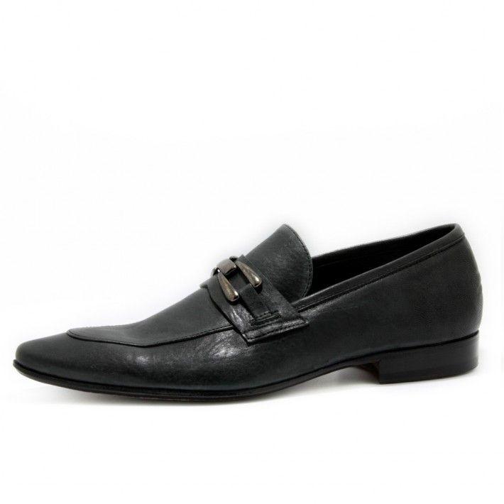 Art. 5043, Bassa in Vitello di colore Nero e fodera in Vitello #Mauron1959 #Italy #shoe #man #style #fashion #luxury