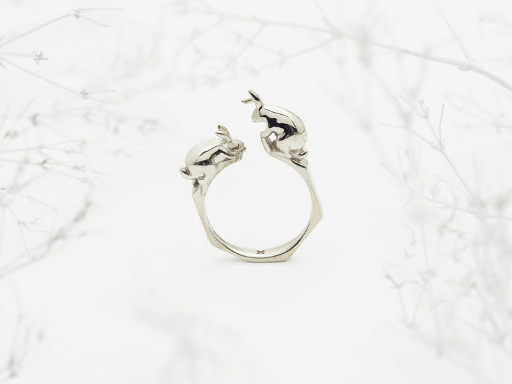 84 best Bunny Jewelry images on Pinterest