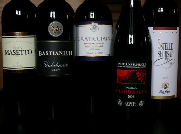 За пределами амароне. Сухие красные вина Ломбардии, Трентино, Фриули и Апулии из подвяленного винограда