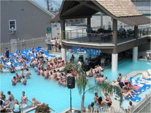 Splash Pool Bar at Put-in-Bay, Ohio.
