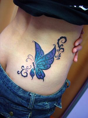 10 best butterfly tattoo images on pinterest butterflies beautiful butterflies and beleza. Black Bedroom Furniture Sets. Home Design Ideas