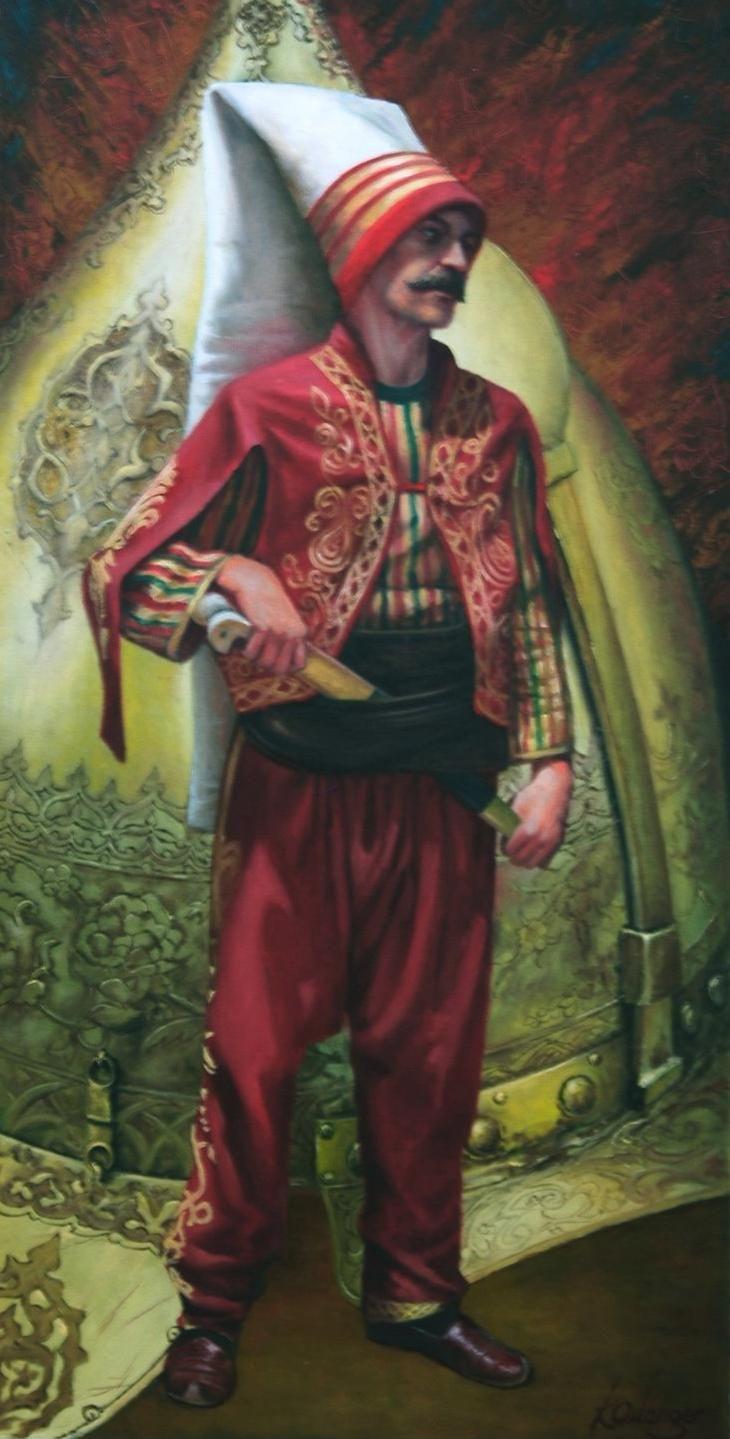 "An Ottoman Janissary Soldier ""Kamil Aslanger"" (Osmanlı Yeniçeri Askeri) #OttomanEmpire"