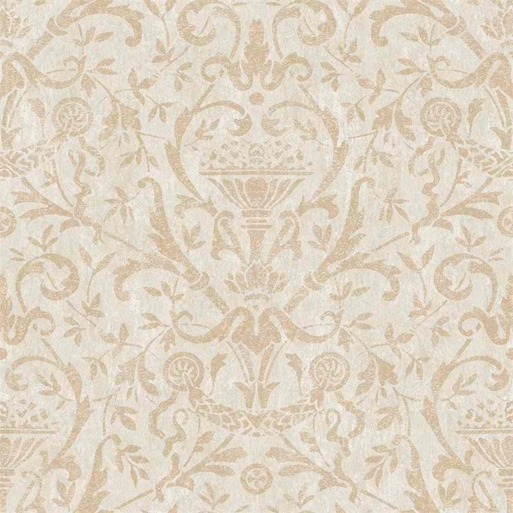 Victorian Wallpaper Brown