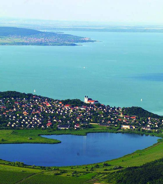 Balaton Lake, Hungary, from Iryna