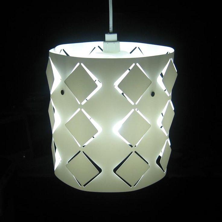 Items similar to objectify diamond light shade on etsy