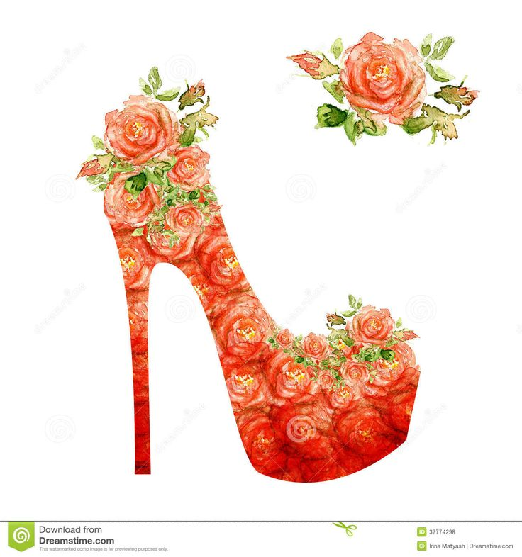 Images For > Blue High Heel Clipart