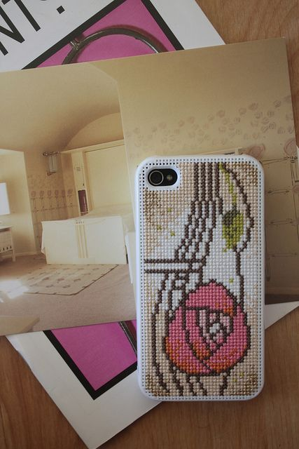 Cross Stitch iPhone case