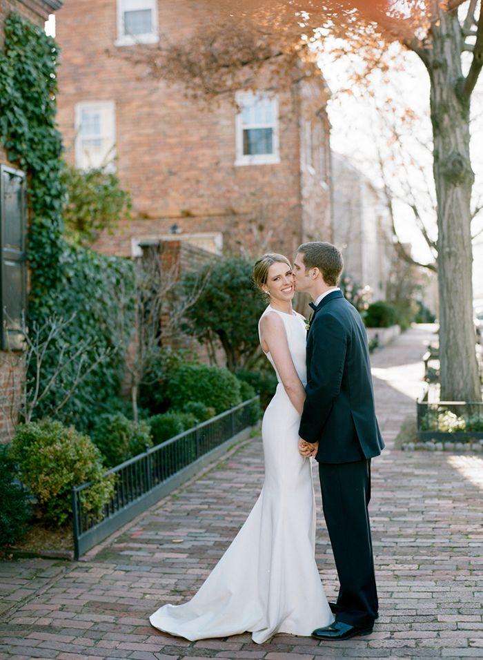 Elegant Restaurant Wedding in Washington, DC. #realwedding #weddinginspiration