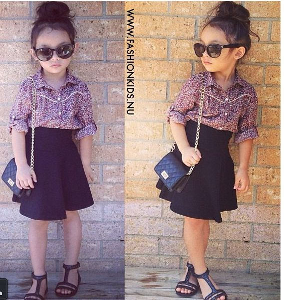 adorable kids christmas dresses | 23 Adorable Stylish Kids | Style Motivation