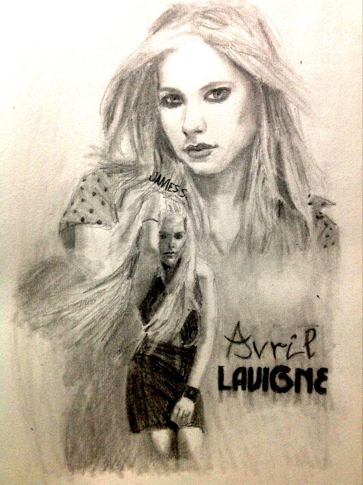 Celebrity Sketch of Avril Lavigne