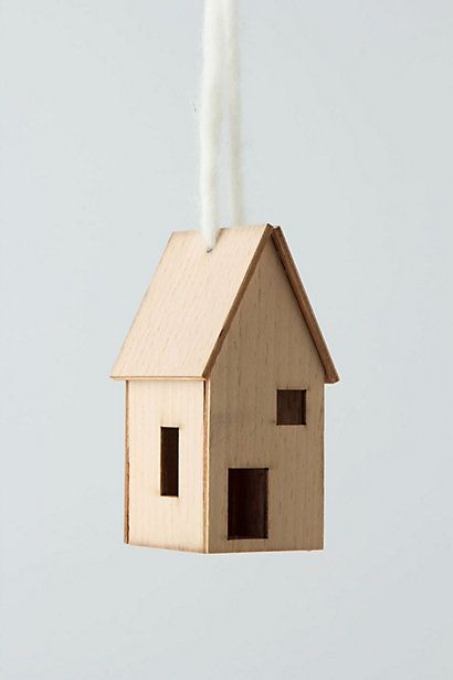 For Christmas and beyond. I love little houses.