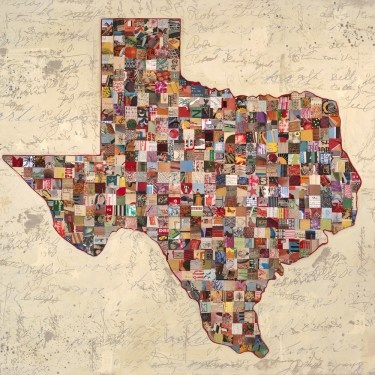 My #Texas Map (2010) acrylic, silk screen, and found paper collage on wood by Dolan Geiman #art: Silhouette Art, Canvas Wall, Dolan Geiman, Dolangeiman, Art Prints, Mixed Media, U.S. States, Texas Maps, Maps Art