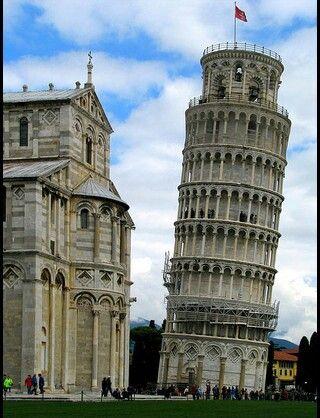 ピサの斜塔 - イタリア,フィレンツェ / Torre di Pissa - Italy,Firenze