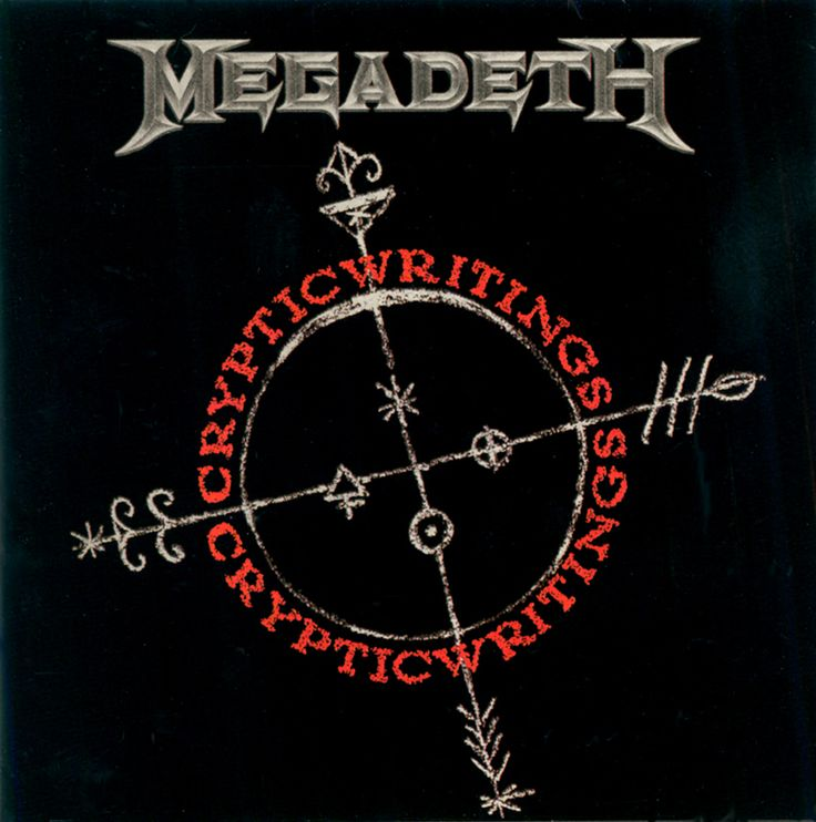Megageth - Cryptic Writings (1997). 2004 remixed and remastered re-release version.