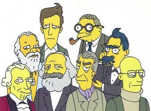 Philosophers Simpsons Mode