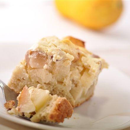 Gâteau au yogourt et aux poires - Nutritionnistes NutriSimple