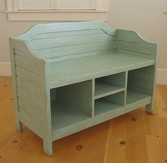 Toy Bench Storage Part - 21: Nantucket Bench, Storage - Bradshaw Kirchofer, Custom Furniture