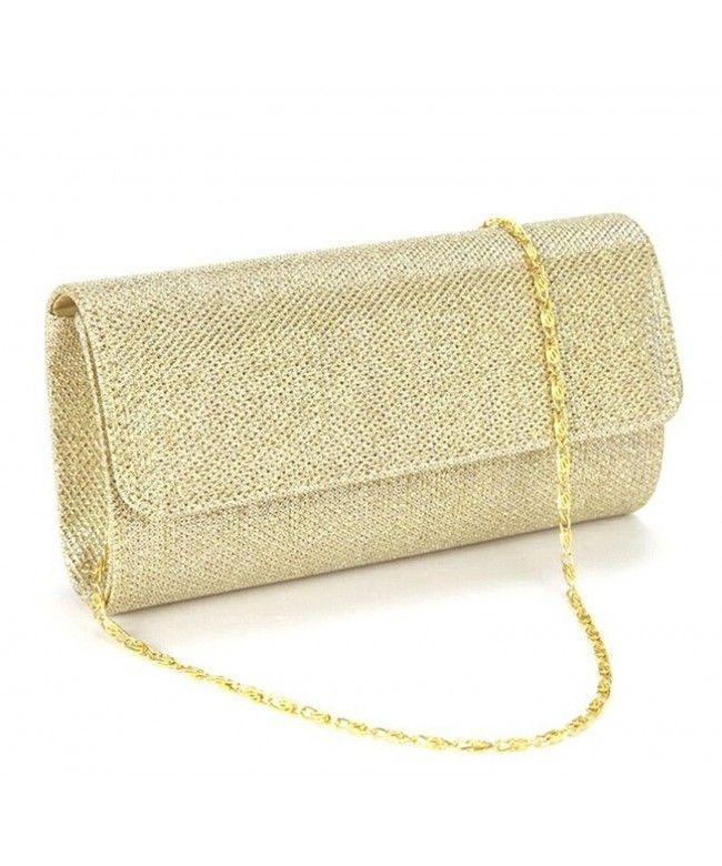 8268495bc4ad 3-in-1 Women Glitter Evening Clutch Bag Party Spark Handbag Clutch ...