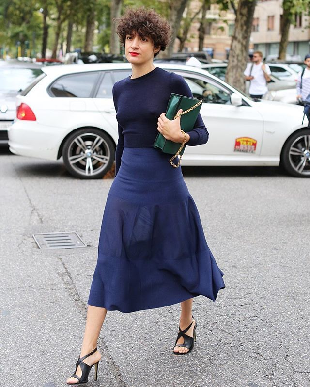 Forget the old saying, blue and green are analogous colours so they are fanatstic together. www.stylestaples.com.au