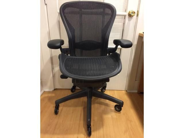 Herman Miller Classic Aeron Chair In Superb Used Condition Home