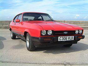 1986 Ford #Capri Mk III Laser