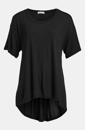 Leith Oversized High/Low Tee   Nordstrom