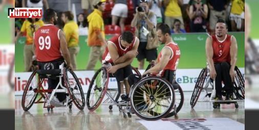 Bronz madalyayı uzatmada kaybettik!: 2016 Rio Paralimpik Oyunları'nda Tekerlekli Sandalye Erkek Basketbol Milli Takımı bronz madalya mücadelesinde normal süresi 65-65 biten karşılaşmada Büyük Britanya'ya uzatmada 82-76 yenildi.