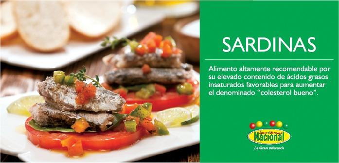 ¡Conoce los beneficios de las sardinas!