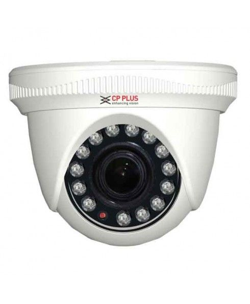 """Model No.- CP-VC-D10L2A, Features-ICR, AWB, AGC, BLC, 2D-DNR, Image Sensor- 1/2.9"""" HQIS Pro, Resolution- 1 MP, Lens- 3.6mm, Min. Illumination- 0.01Lux@F1.2(AGC ON), 0 lux IR on, IR/Array 14, IR Distance- 20 m, Power Supply- 160mA±15%(IR ON), 75mA±10%(IR OFF), Packaging Unit-1, Warranty- As per manufacturer's warranty policy"""