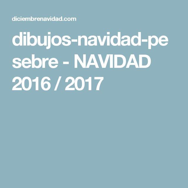 dibujos-navidad-pesebre - NAVIDAD 2016 / 2017
