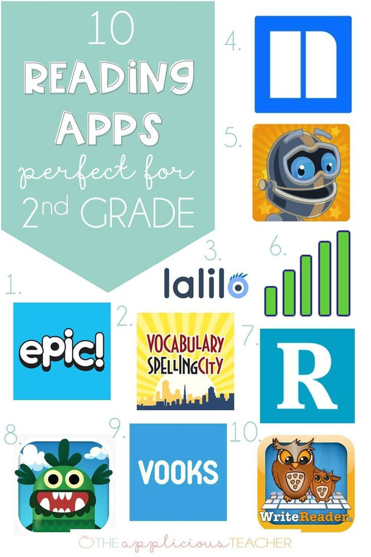 10 Reading Apps Perfect For 2nd Grade Reading Apps 2nd Grade Reading Elementary Reading Reading comprehension grade apps