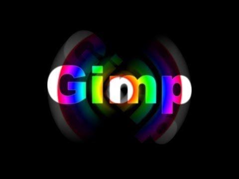 Gimp Tutorial - Scritta con i colori dell'arcobaleno. Written with the colours of the Rainbow.
