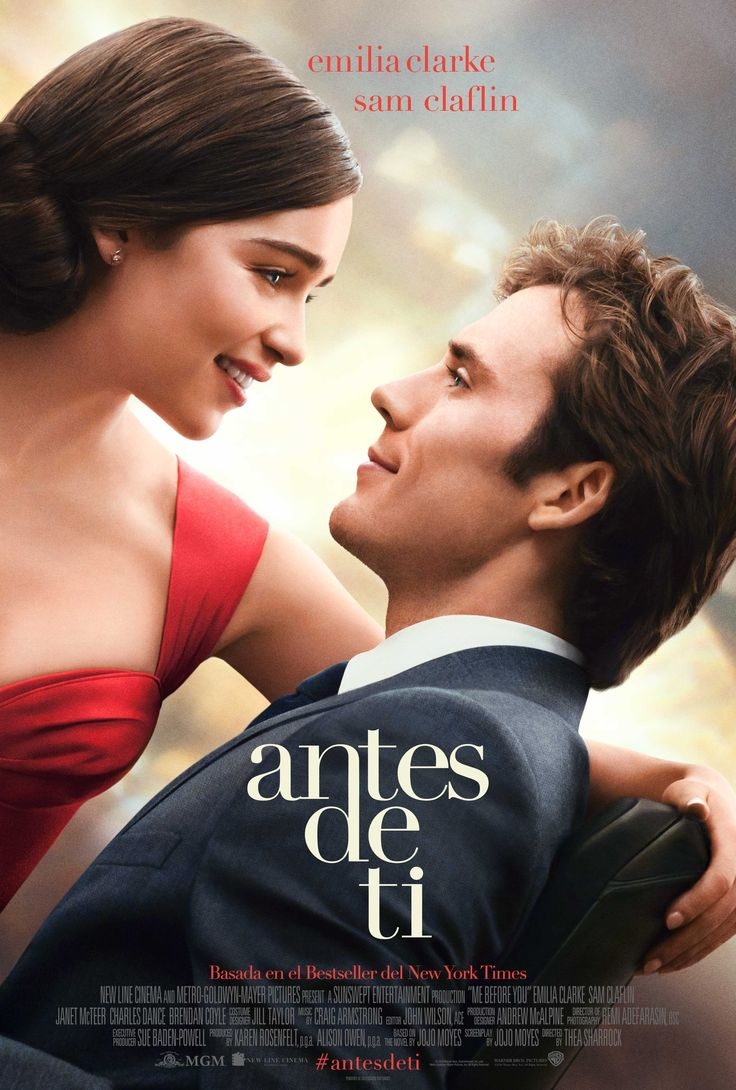 2016 / Antes de ti - Me before you (2016)