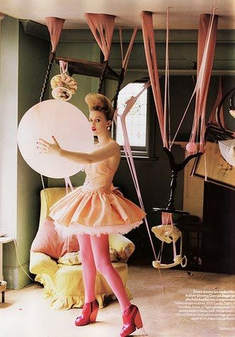 tim walker's 'fantastic & fabulous fashion' balloons