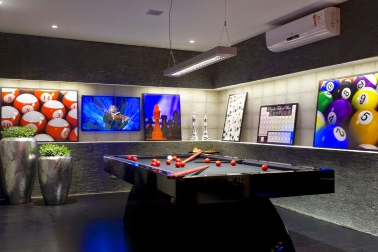 Decor Salteado - Blog de Decoração e Arquitetura : Sala de Jogos – veja modelos e dicas para montar uma em sua casa!