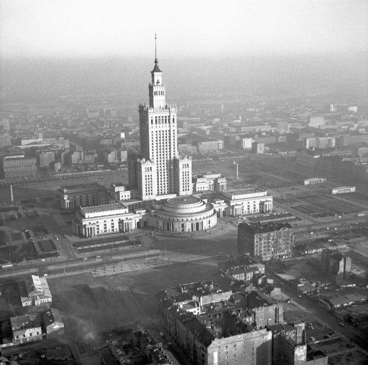 Zbyszko Siemaszko: Pałac Kultury i Nauki