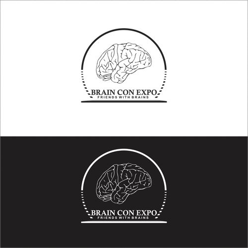 State-of-the-art logo for state-of-the-art nonprofit! Help revolutionize Brain Con Expo 🌟 Design by DEWI PURWA