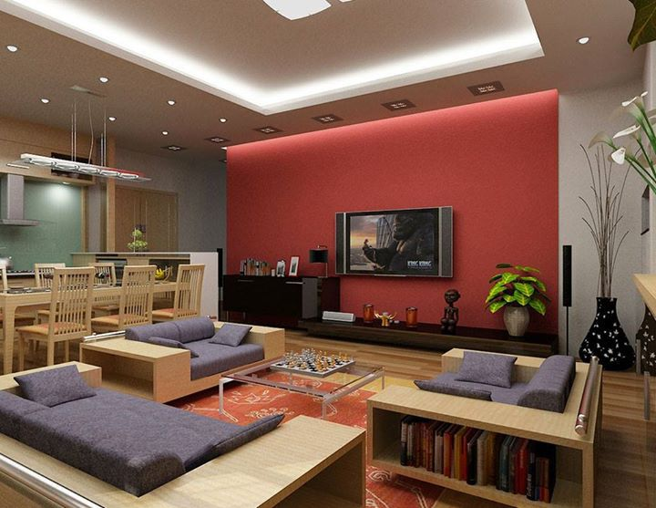 Living Room  Red Accent Wall Color With Grey Cushion For Modern Living Room  Ideas  Comfortable Interior Design Ideas for Living Rooms21 best Red Living Rooms images on Pinterest   Red living rooms  . Living Room Ideas With Red Accent Wall. Home Design Ideas
