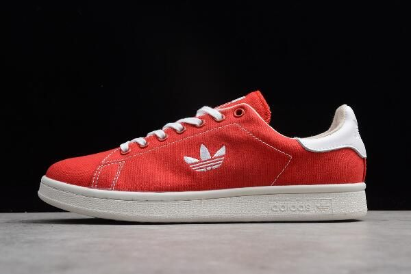 adidas Stan Smith ScarletCloud Clear Brown White Shoes