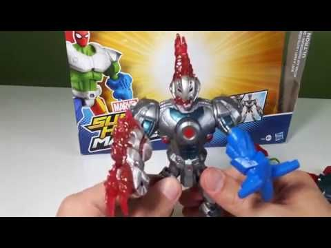 SURPRISE TOYS FOR KIDS. MARVEL MASHERS . ULTRON from Toxin collection