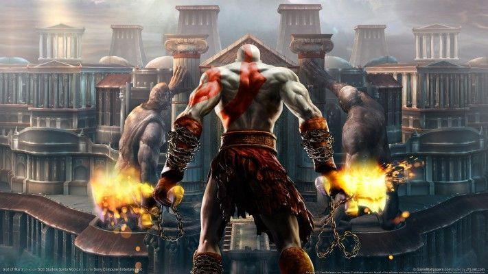 God Of War 2 Hd God Of War 2 Wallpaper 4k Download Wallpaper