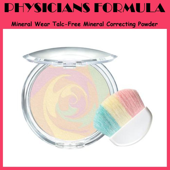 PHYSICIANS FORMULA Mineral Wear Talc - Free Mineral Correcting Powder - IDR 259.000 (Free Shipping)