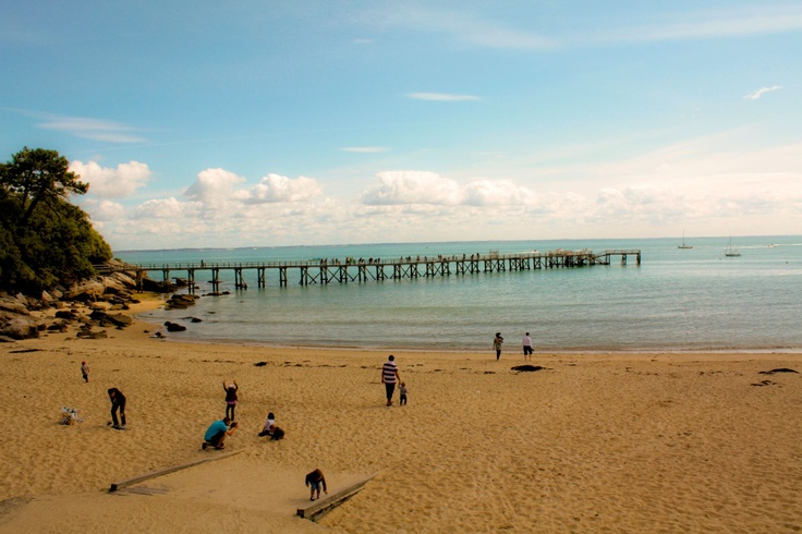 Noirmoutier Island, plage des dames - France
