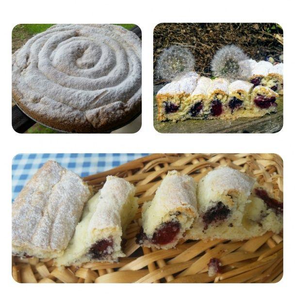 Točený višňovo-makový koláč (fotorecept) - obrázok 5