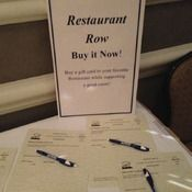 buy it now table silent auction auction projectsauction ideasfundraising